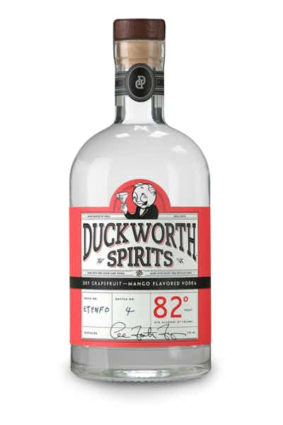 Duckworth Dry Grapefruit Mango Vodka