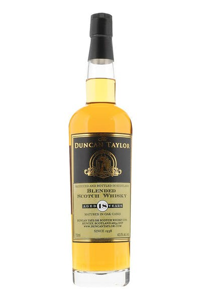 Duncan Taylor Blended Scotch 18 Yr