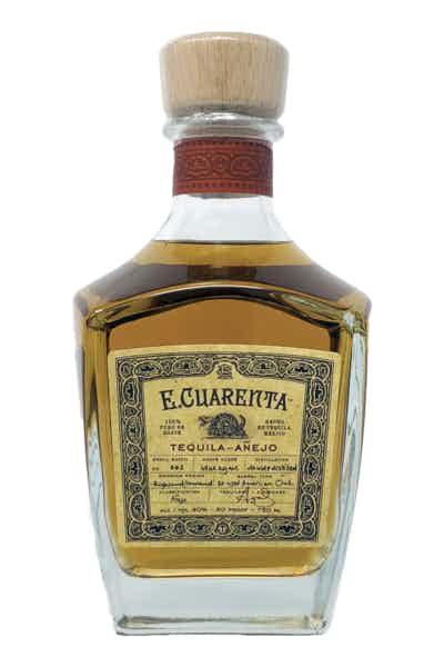 E. Cuarenta Anejo Tequila