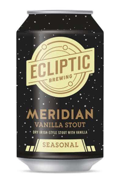 Ecliptic Meridian Vanilla Stout