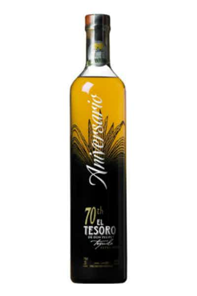 El Tesoro 70th Anniversary Extra Anejo Tequila