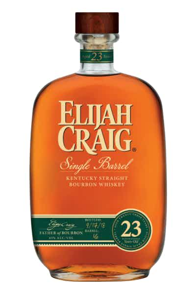 Elijah Craig 23 Year Single Barrel