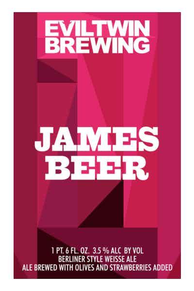 Evil Twin James Beer
