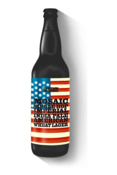 Evil Twin Mosaic Single Hop Imperial Pale American Wheat Lager