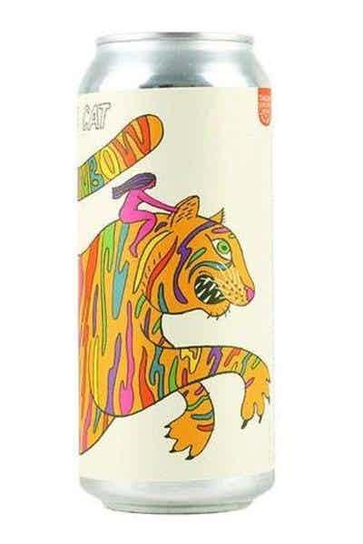 Fat Orange Cat She's A Rainbow