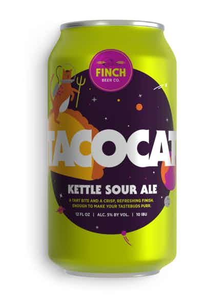 Finch Beer Co Tacocat Kettle Sour Ale