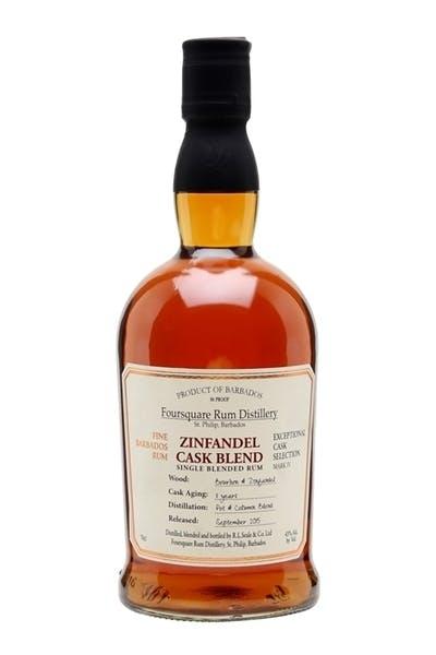 Foursquare Zinfandel Cask Blend Rum