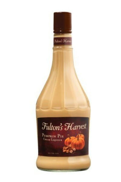 Fulton's Harvest Pumpkin Pie Cream Liqueur