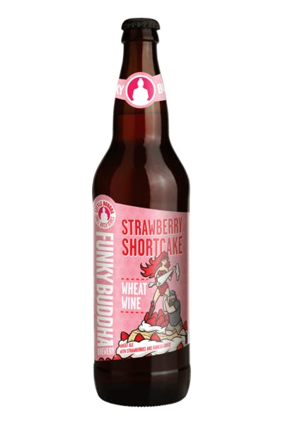 Funky Buddha Strawberry Shortcake Wheat Ale