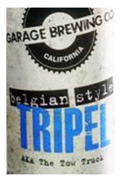 Garage Brewing Belgian Style Tripel