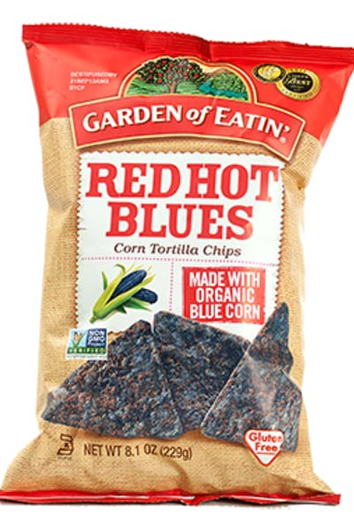 Garden of Eatin' Red Hot Blues Tortilla Chips