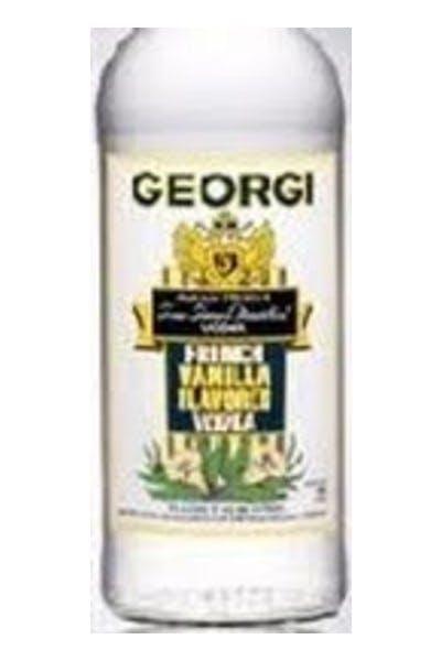 Georgi French Vanilla Vodka