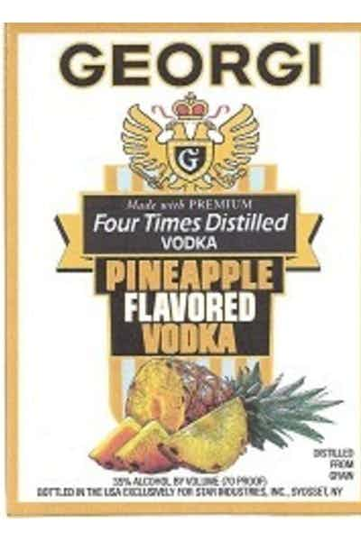 Georgi Pineapple Vodka
