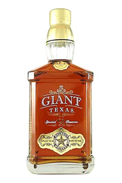 Giant Texas Bourbon Whiskey