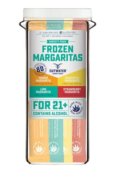 Cutwater Frozen Margarita Spirit Pops Variety Pack