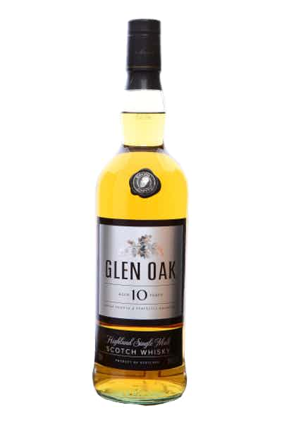 Glen Oak Aged 10 Year Old Scotch