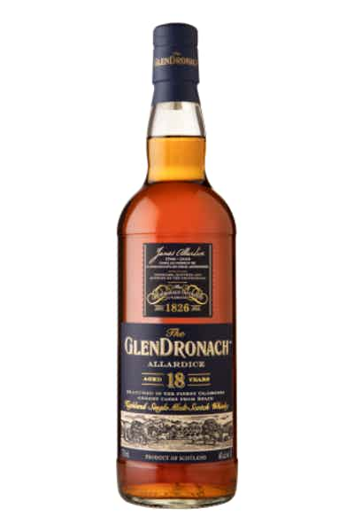 The GlenDronach Single Malt Scotch Whisky Allardice Aged 18 Years