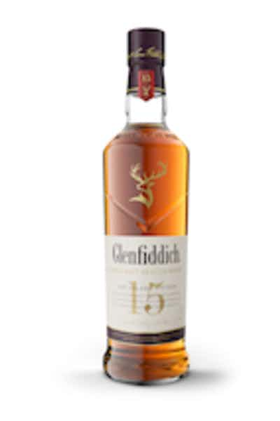 Glenfiddich 15 Year Old Solera Reserve Single Malt Scotch Whisky