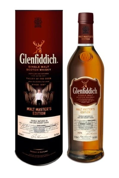 Glenfiddich Scotch Single Malt Malt Masters