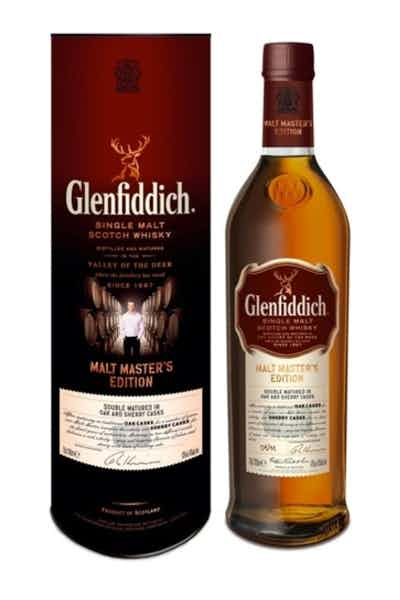 Glenfiddich Scotch Single Malt Malt Masters