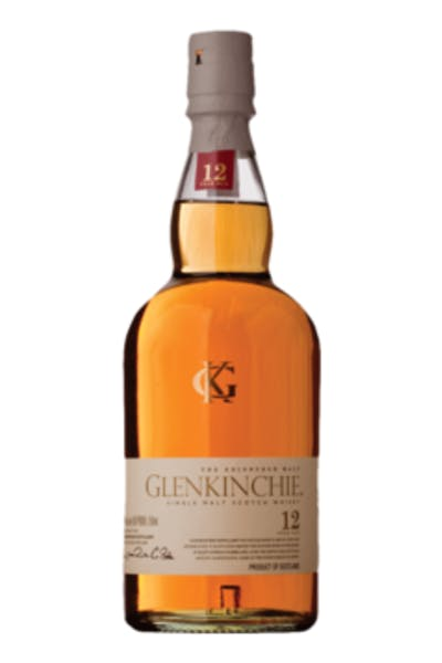 Glenkinchie Scotch 12 Year