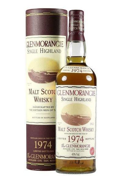 Glenmorangie Scotch Single Malt 42 Year 1974