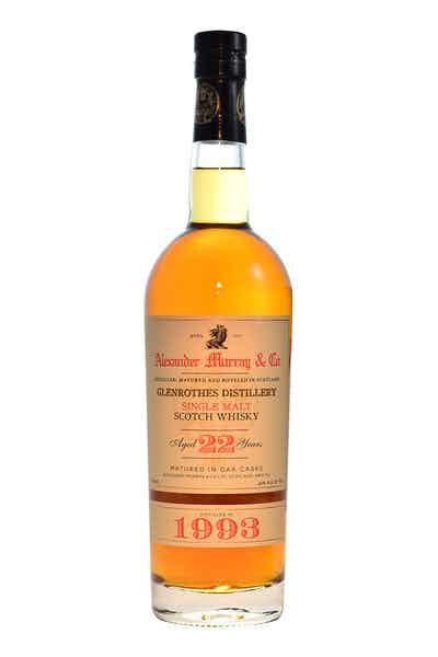 Glenrothes Single Malt Scotch 22 Year 1993