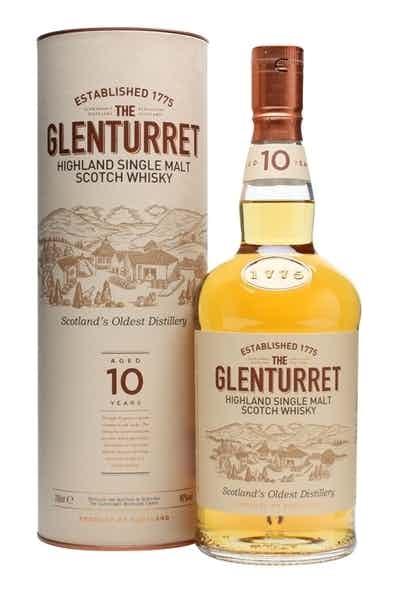 The Glenturret 10 Year Old Single Malt Scotch