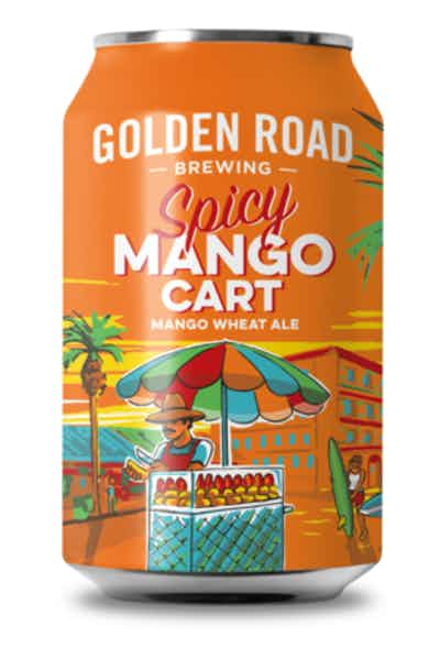Golden Road Brewing Spicy Mango Cart