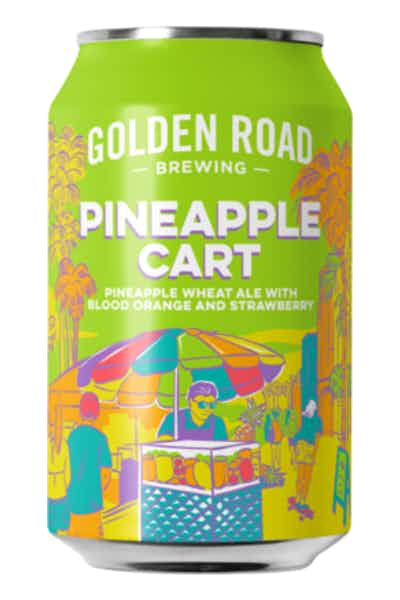 Golden Road Brewing Pineapple Cart