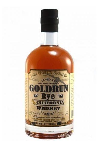 Goldrun Rye California Whiskey