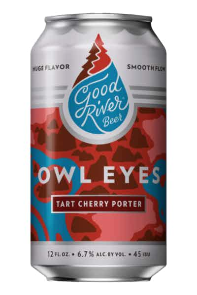 Good River Owl Eyes Cherry Porter