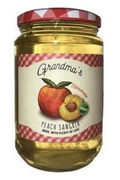 Grandma's Homemade Peach Sangria