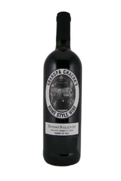 Grandpa Chacha's Home Style Wine Rosso Salento