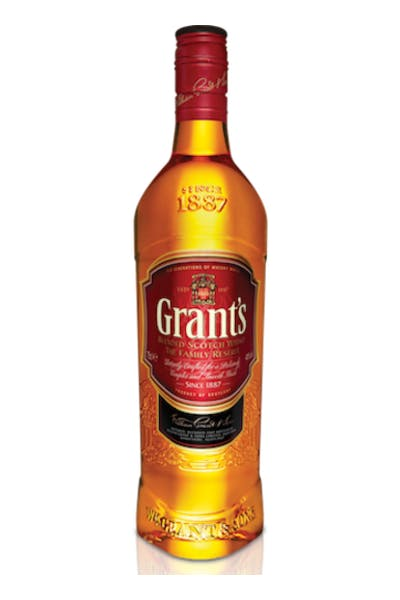 Grant's Family Reserve Scotch Whisky