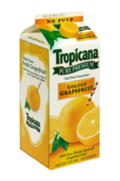Grapefruit Juice Cocktail (Golden)