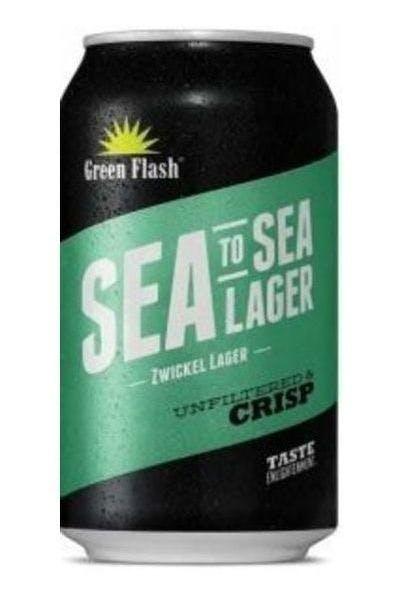 Green Flash Sea to Sea Zwickel Lager