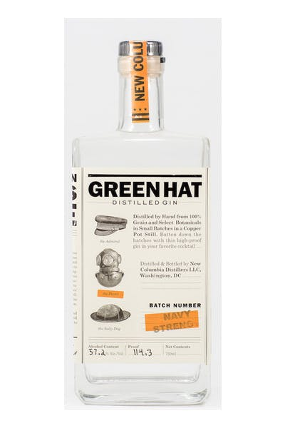 Green Hat Navy Strength Gin
