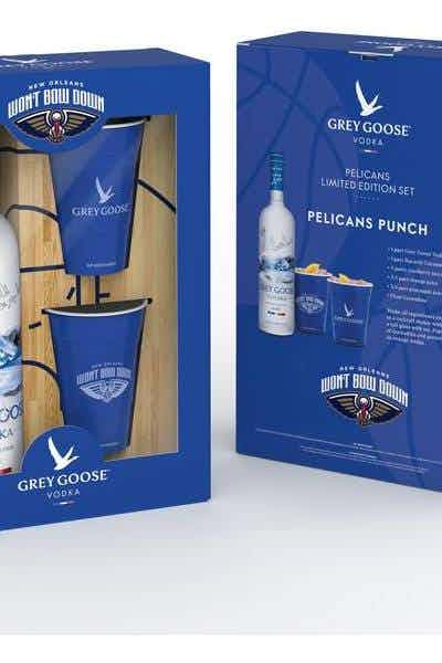 Grey Goose Limited Edition New Orleans Pelicans Cocktail Kit