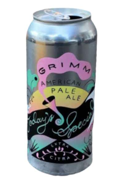 Grimm Today's Extra Special Pale Ale