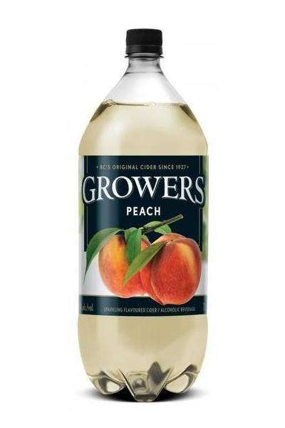 Growers Peach Cider