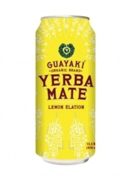 Guayaki Yerba Mate Lemon