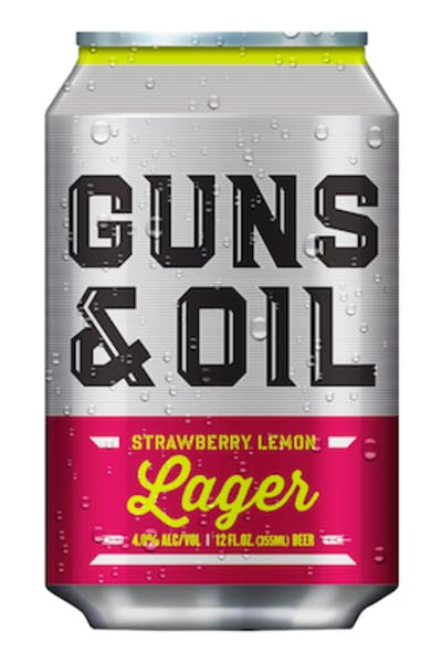 Guns & Oil Strawberry Lemon Lager