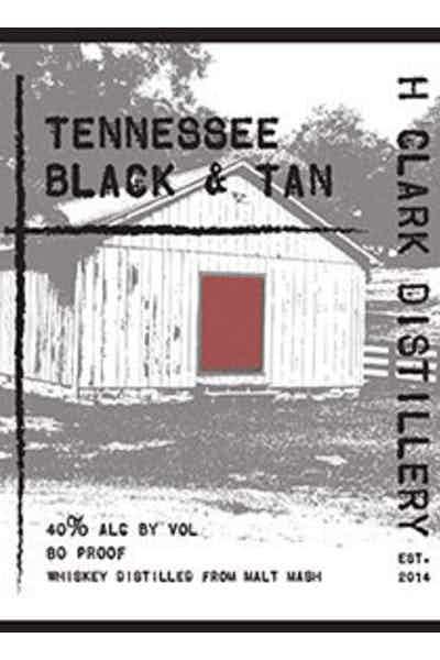 H Clark Black & Tan Whiskey