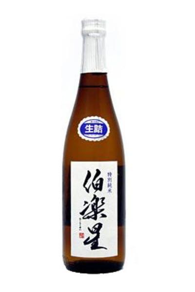 Hakurakusei Tokubetsu Junmai Sake