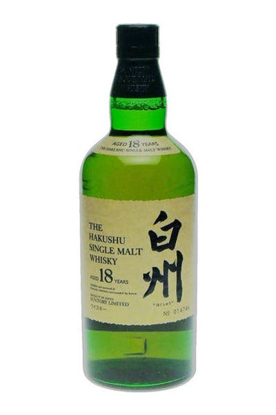 Hakushu Single Malt Japanese Whisky 18 Year