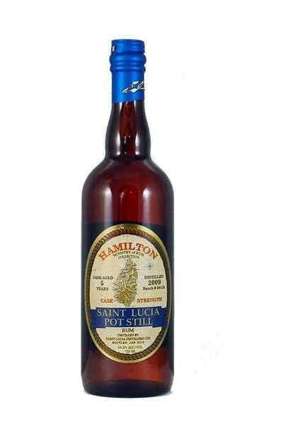 Hamilton 5 Year St. Lucia Rum