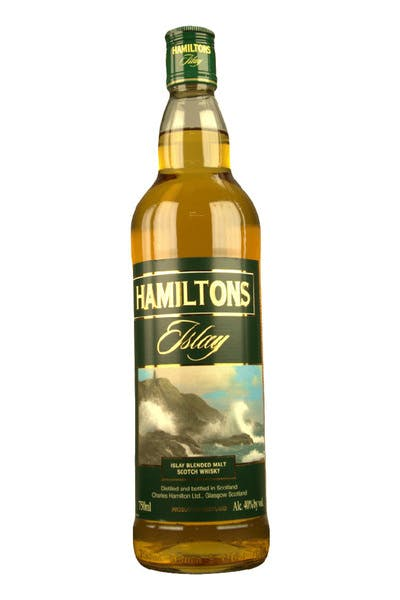 Hamilton's Islay Single Malt Scotch Whisky