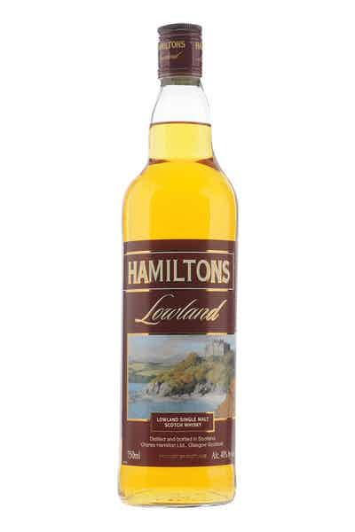 Hamilton's Lowland Single Malt Scotch Whisky