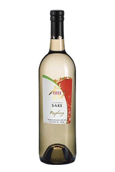 Hana Raspberry Sake